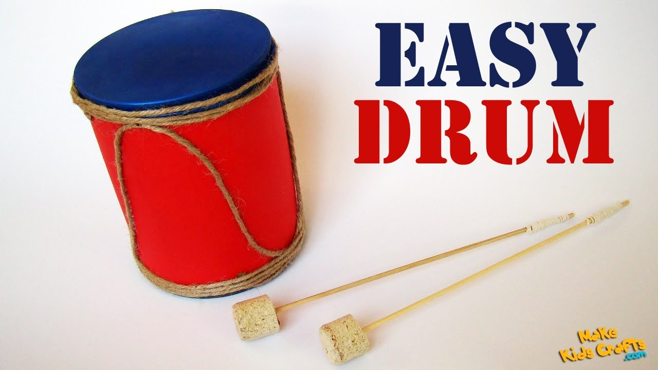 how to make a drum? diy - youtube