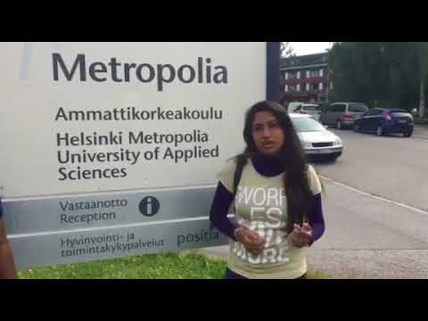 Greetings from IIHS Alumna - Samitha from Helsinki Metropolia University of Applied Sciences
