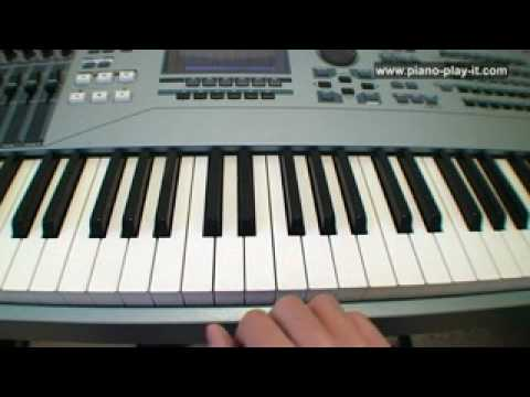 Piano Diminished Chords A Free Piano Lesson Piano Chords Youtube