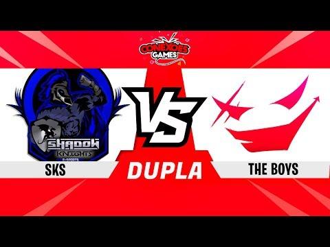 THE BOYS vs SKS - TORNEIO DUPLAS MULTI - SEMI FINAL