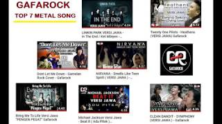 Gambar cover Top 7 GAFAROCK COVER METAL SONG