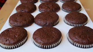 Simple chocolate cupcake recipe for beginners