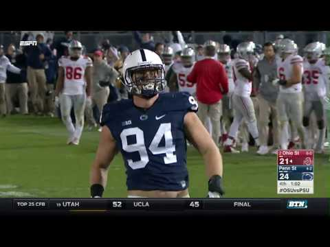 Ohio State at Penn State - Football Highlights