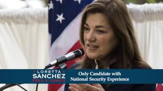 """Only"" - Loretta Sanchez for Senate 2016"