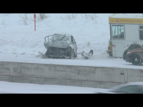 630 Crashes, 1,182 Spin-Outs Amid Record Snowstorm
