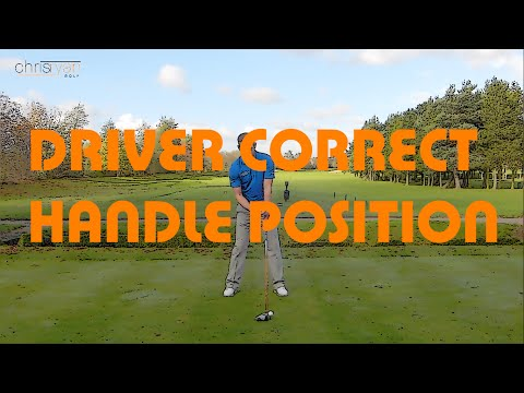 DRIVER CORRECT HANDLE POSITION