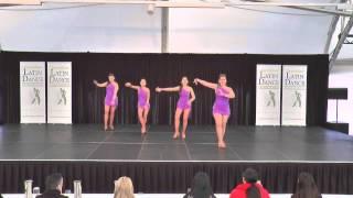 Amateur Latin Shines Team - Tropical Soul Cha Cha Ladies