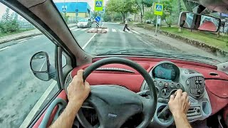 Fiat Multipla review / 4K POV test drive