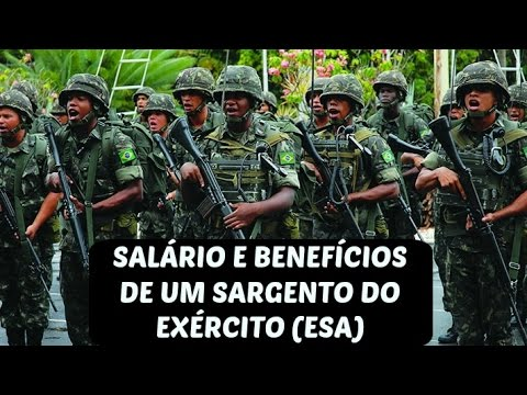 SALÁRIO E BENEFÍCIOS DE UM SARGENTO DO EXÉRCITO  (ESA) #2