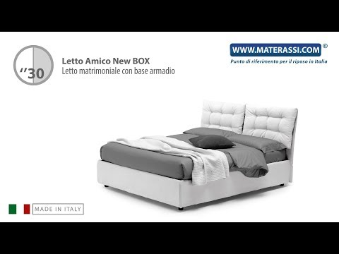 Base Letto Matrimoniale.Letto Amico New Box 160
