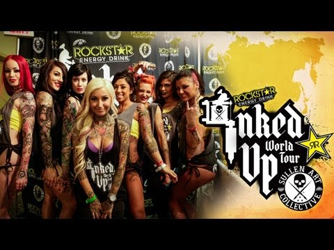 Tattoo convention coverage rockstar energy miss inked up for Detroit tattoo convention 2017