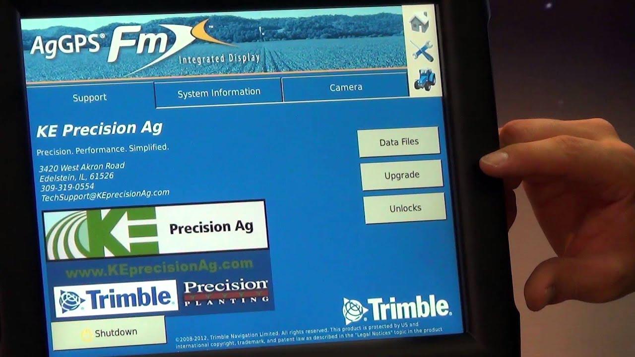 Trimble FMX Display Tutorial - Home Screen