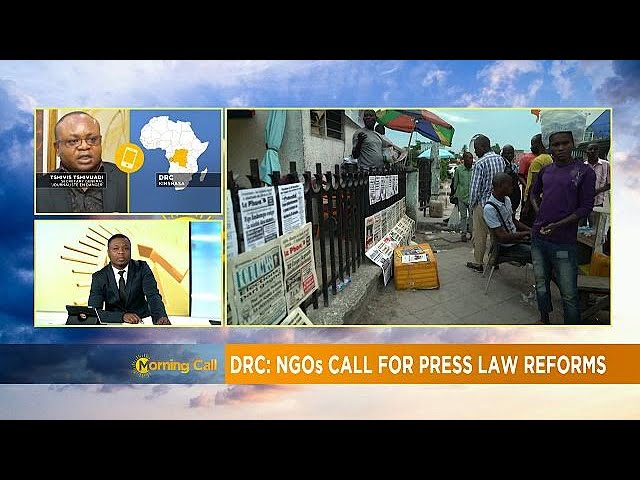 Renewed calls for press freedom in the DRC (Morning Call)
