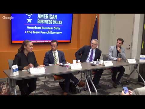 American Business Skills + the New French Economy