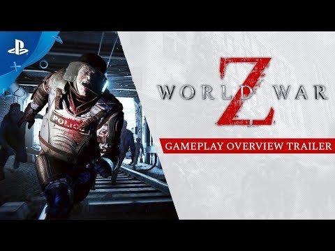World War Z - Overview Gameplay Trailer | PS4