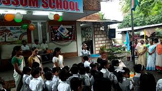 15 Aug satara blossom school Program