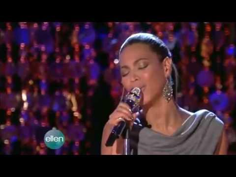 Beyoncé - At Last - Live @  Ellen de Generes (12 08 08) [HD].