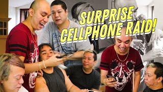 SURPRISE CELLPHONE RAID SA MGA BEKS (MAY NABUKING) | CHAD KINIS VLOG