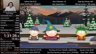South Park: The Stick of Truth Speedrun (1:31:26) for Any% Mage
