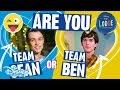 The Lodge TeamSean Or TeamBen Whosie Game Official Disney Channel UK mp3