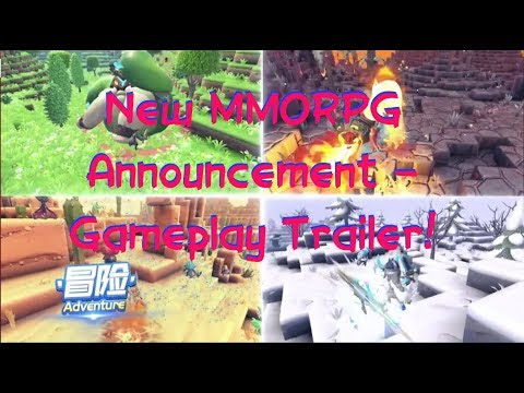 Portal Knights Announcement!! NEW MMORPG 2019 With Gameplay Trailer!! ChinaJoy