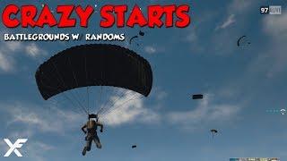 CRAZY STARTS - PlayerUnknown's Battlegrounds