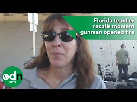 Florida teacher recalls moment gunman opened fire