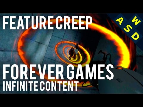 Forever Games & Infinite Content | Feature Creep