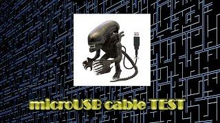 Как проверить кабель microUSB на