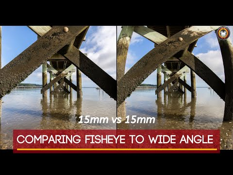 The Difference Between FISHEYE And Wide Angle Lenses