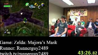 Zelda: Majora's Mask Speed Run (2:08:31) by Runnerguy2489  - AGDQ 2012