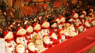 Wooden Snowmen Toys For Christmas Decoration In Germany
