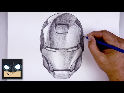 How To Draw Iron Man | Sketch Tutorial