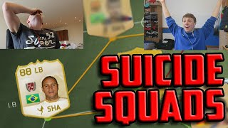 One of CapgunTom's most viewed videos: FIFA 15 - SUICIDE SQUADS VS WROETOSHAW!!! | LEGEND ROBERTO CARLOS DISCARD!!!