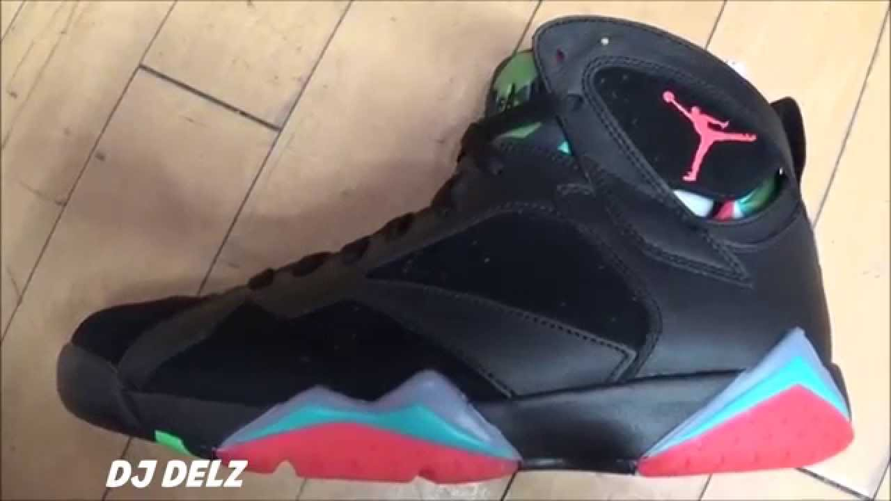 0d597b267402a5 Air Jordan 7 Barcelona nights VII Retro Sneaker Review With  DjDelz   HotOrNot