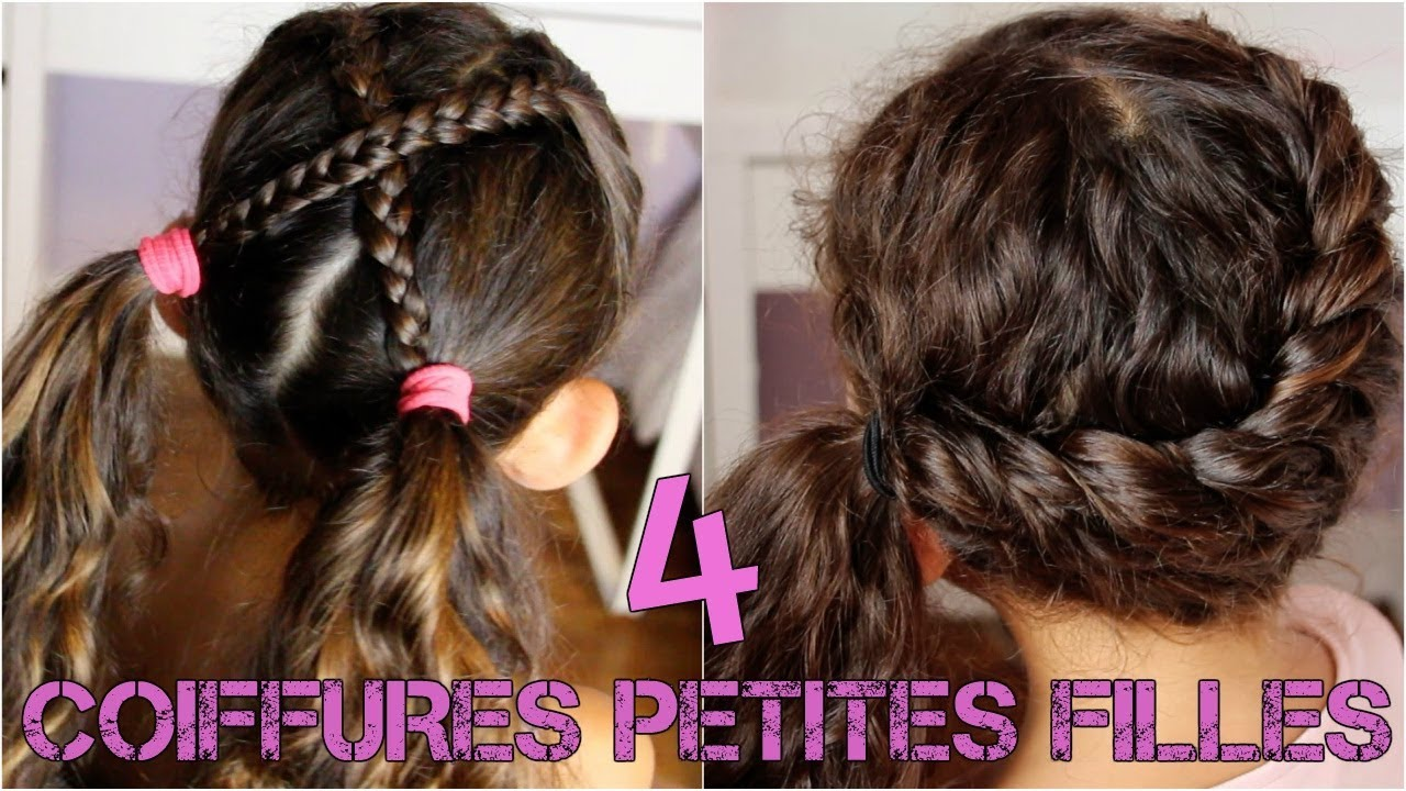 4 Idees Coiffures Petites Filles Rentree Scolaire Back To School