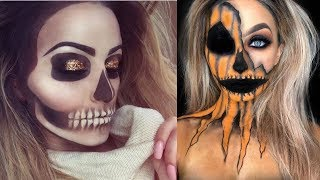 Halloween Makeup and Halloween Costumes Ideas - Scary 2018 | part-3