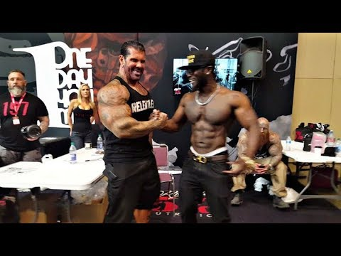 Rich Piana Schools Fitness Addict 2017 EXPO