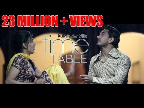 Time Table Official Video Kulwinder Billa