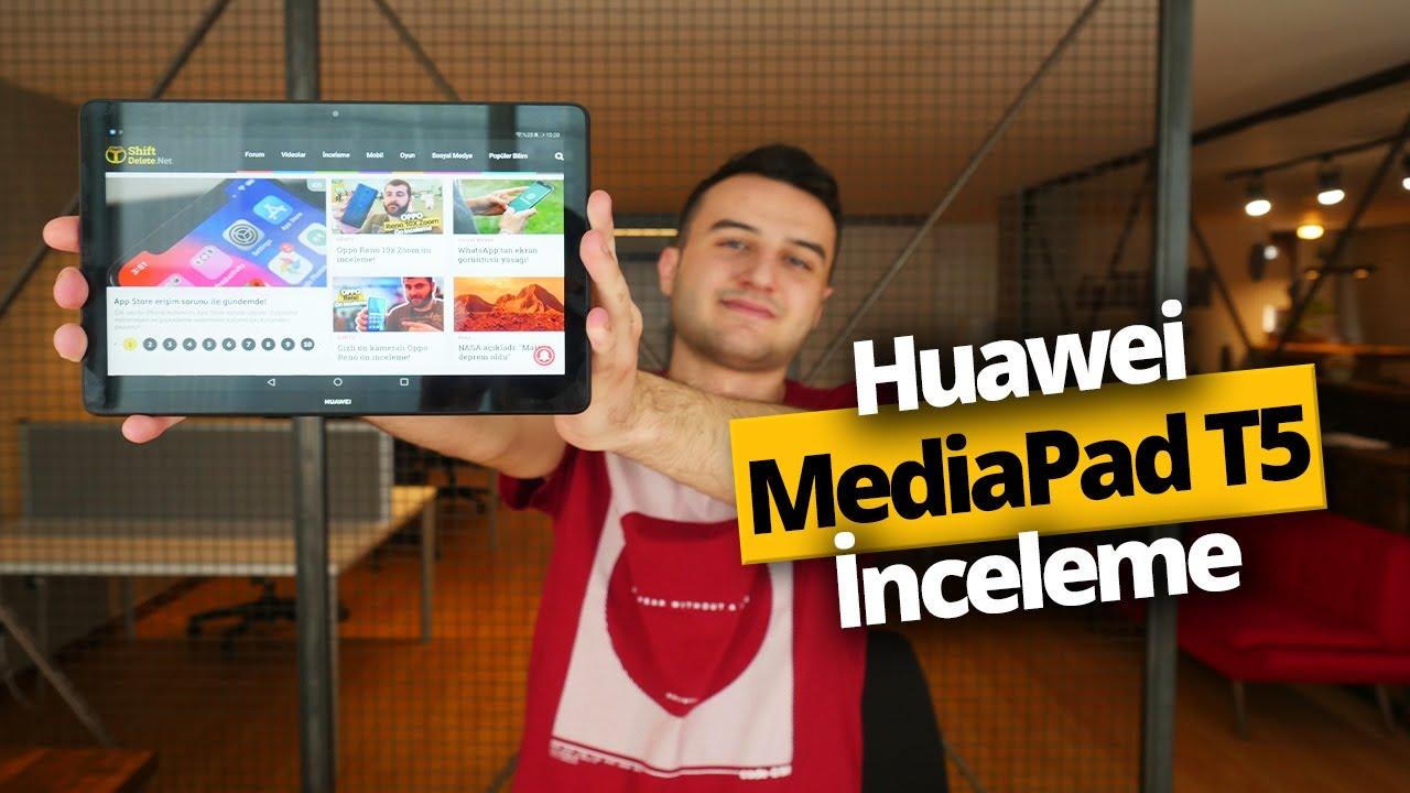 Huawei MediaPad T5 İnceleme - Uygun fiyatlı tablet arayanlara!