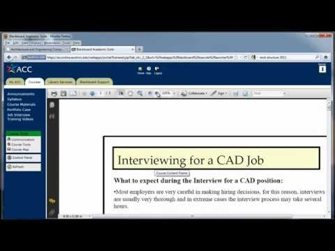 Dftg 1491 - Interviewing for a CAD Job