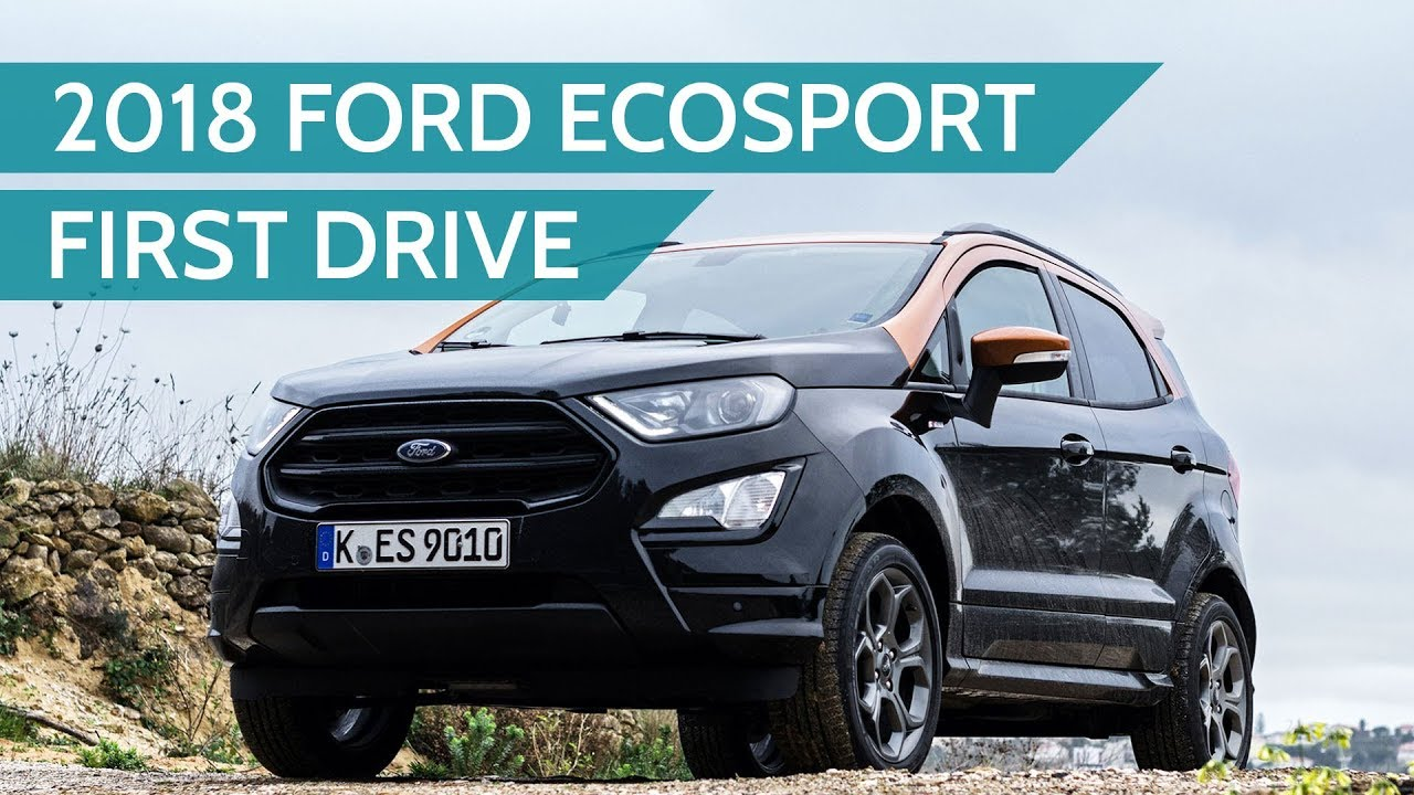 2018 ford ecosport st line first drive review youtube. Black Bedroom Furniture Sets. Home Design Ideas