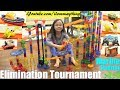Marble Racing Elimination: Pokemon, Thomas and Friends, Disney Cars and Monster Jam Race #66