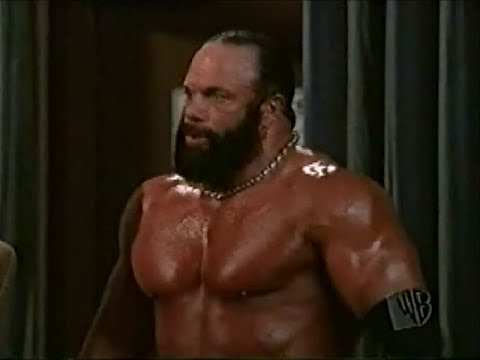 Macho Man Randy Savage in sitcom Nikki 11th February 2001