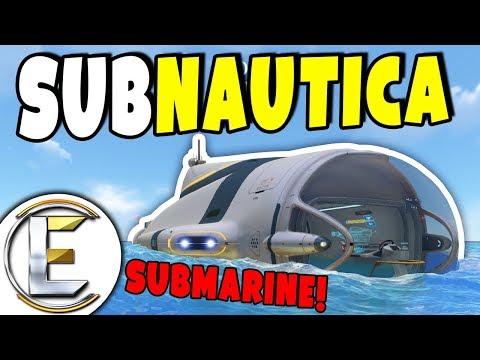 Subnautica Survival | Built A Submarine! - Episode 9 (Building A Big Cyclops)