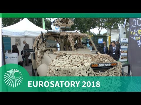 Eurosatory 2018:  Hornet Special Operations Vehicle (SOV)