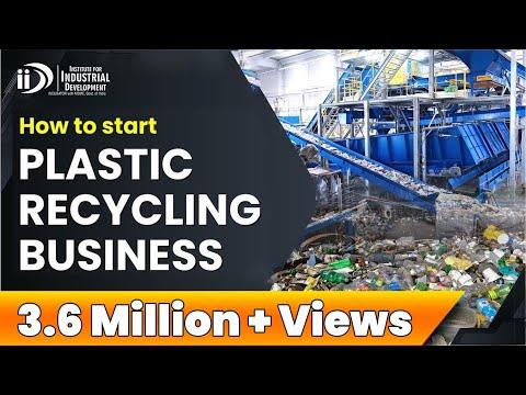 How To Start Plastic Recycling Business I प्लास्टिक रीसाइक्ल
