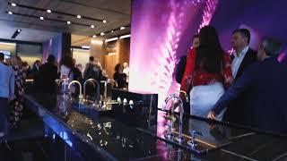 Porcelanosa debuts faucets collection LIGNAGE by Ramon Esteve (Cersaie 2018)