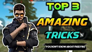 Top 3 Amazing Tricks About Free Fire Tamil || After Updates Tricks Tamil || Free Fire Tamil Bloopers
