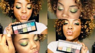 Makeup Tutorial | *New* NYX Avant Pop Palette in Art Throb